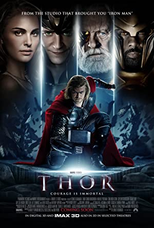 movie poster of Thor
