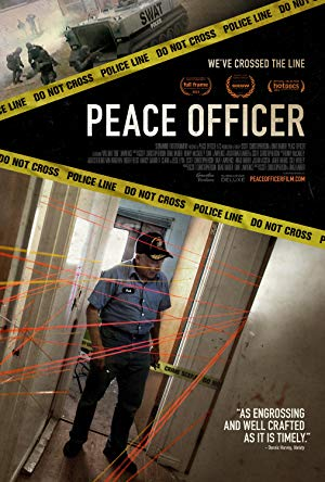 movie poster of Peace Officer
