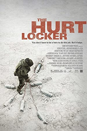 movie poster of The Hurt Locker streaming (where to watch online?)