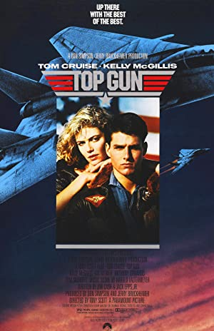 movie poster of Top Gun