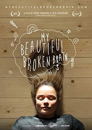 movie poster of My Beautiful Broken Brain