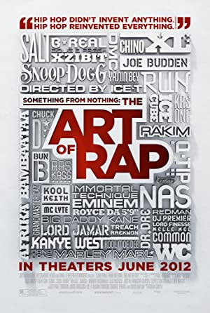 movie poster of Something from Nothing: The Art of Rap