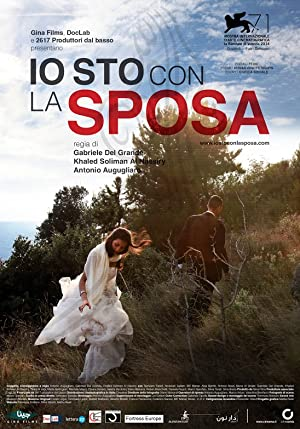 movie poster of Io sto con la sposa/ On the Bride's Side