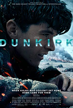 movie poster of Dunkirk streaming (where to watch online?)