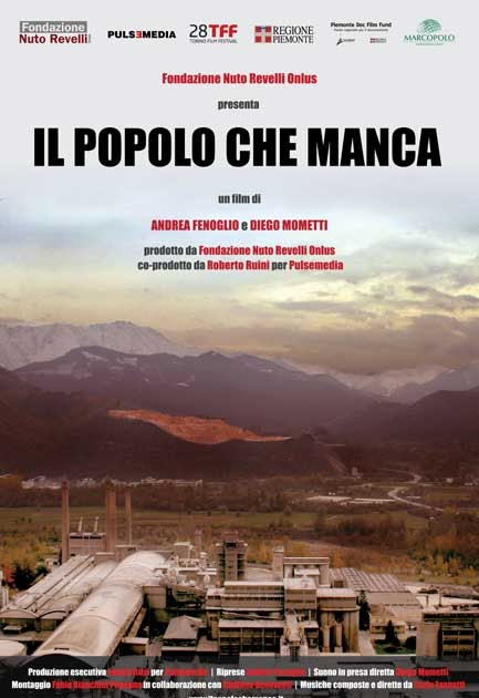movie poster of Il popolo che manca
