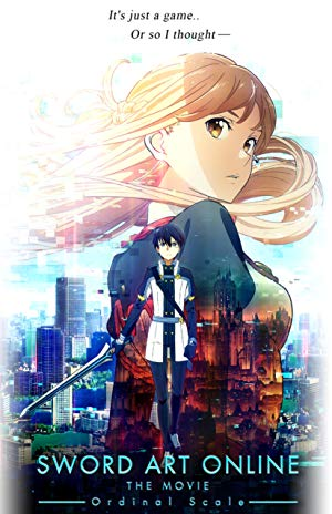 movie poster of Sword Art Online The Movie: Ordinal Scale