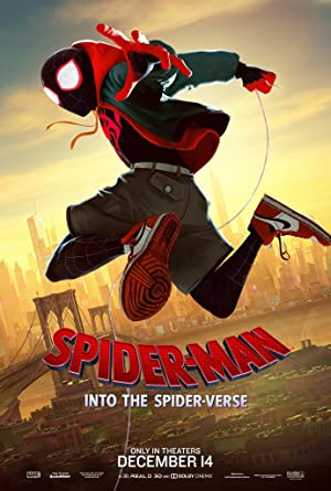 movie poster of Spider-Man: Into the Spider-Verse streaming (where to watch online?)