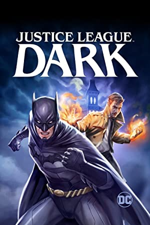 movie poster of Justice League Dark