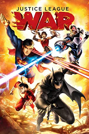 movie poster of Justice League: War