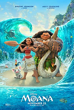 movie poster of Vaiana