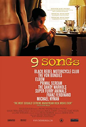 movie poster of 9 Songs