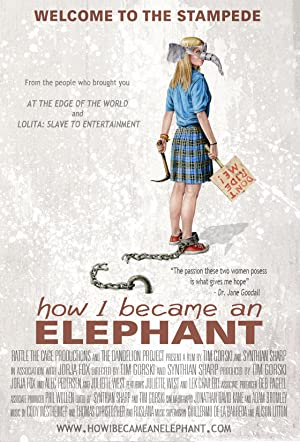 movie poster of How I Became an Elephant