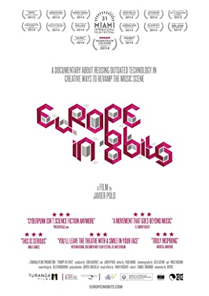 movie poster of Europe in 8 Bits