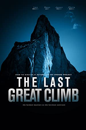 movie poster of The Last Great Climb