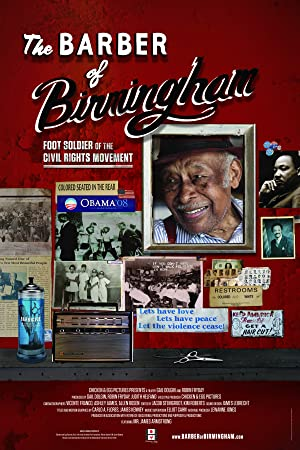 movie poster of The Barber of Birmingham: Foot Soldier of the Civil Rights Movement