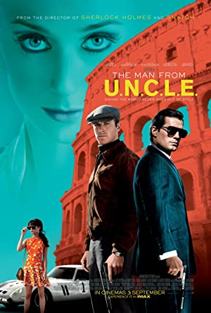 movie poster of The Man from U.N.C.L.E.