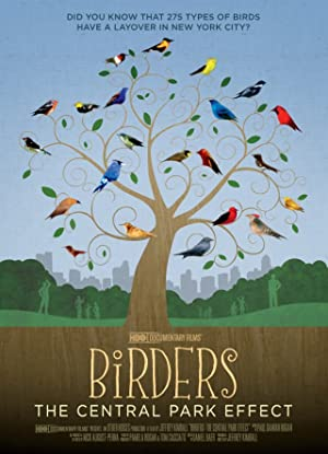 movie poster of Birders: The Central Park Effect