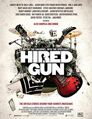 movie poster of Hired Gun