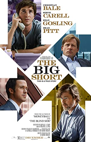 movie poster of The Big Short streaming (where to watch online?)