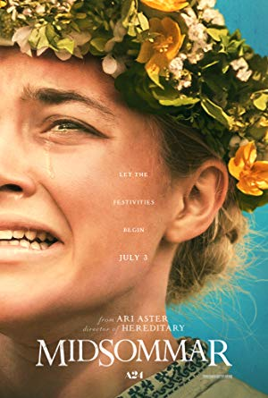 movie poster of Midsommar
