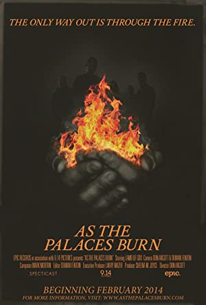 movie poster of As the Palaces Burn