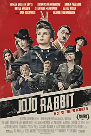 movie poster of Jojo Rabbit