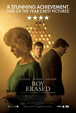 movie poster of Boy Erased