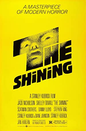 movie poster of The Shining