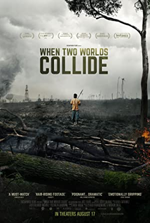 movie poster of When Two Worlds Collide