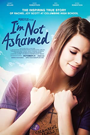 movie poster of I'm Not Ashamed