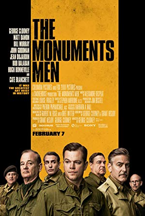 movie poster of The Monuments Men