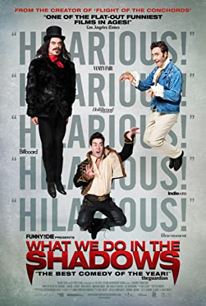 movie poster of What We Do in the Shadows
