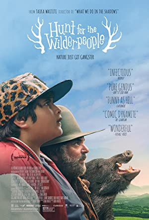 movie poster of Hunt for the Wilderpeople