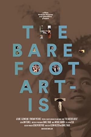 movie poster of The Barefoot Artist