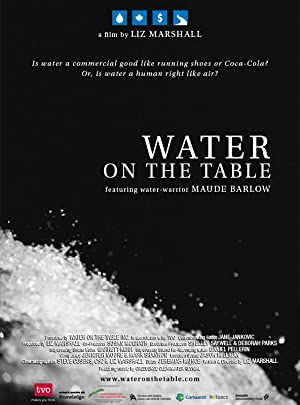 movie poster of Water on the Table