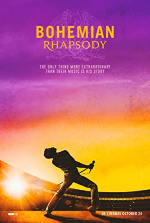 movie poster of Bohemian Rhapsody streaming (where to watch online?)