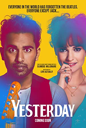 movie poster of Yesterday