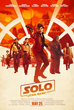 movie poster of Solo: A Star Wars Story streaming (where to watch online?)