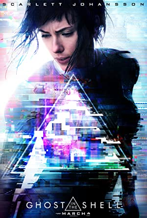 movie poster of Ghost in the Shell
