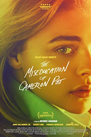 movie poster of The Miseducation of Cameron Post