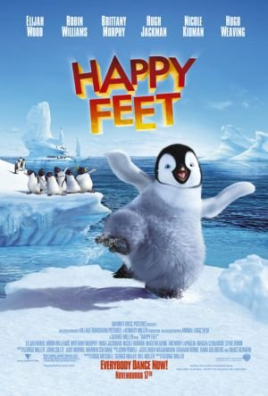 movie poster of Happy Feet