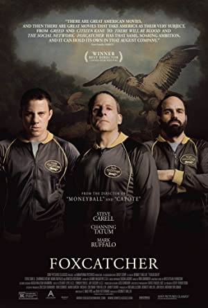 movie poster of Foxcatcher
