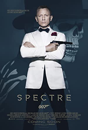 movie poster of Spectre streaming (where to watch online?)
