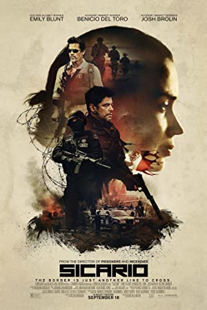 movie poster of Sicario streaming (where to watch online?)