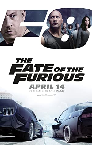movie poster of The Fate of the Furious