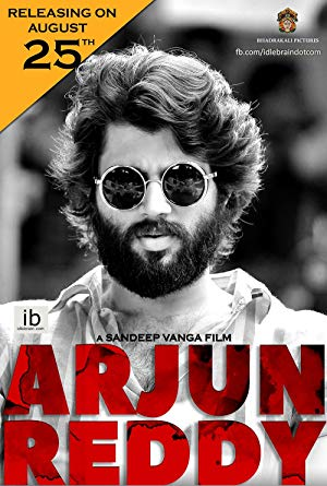 movie poster of Arjun Reddy