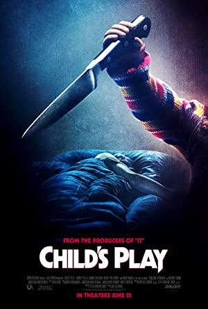 movie poster of Child's Play