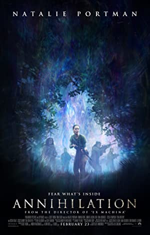 movie poster of Annihilation