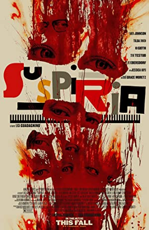 movie poster of Suspiria streaming (where to watch online?)