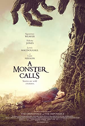 movie poster of A Monster Calls